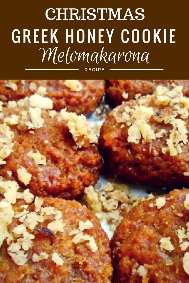 Melomakarona Greek Honey Cookie