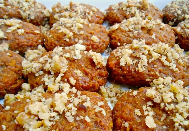 Melomakarona Greek Christmas Cookies