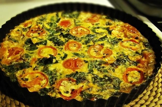 Mediterranean Crustless Gluten-Free Quiche