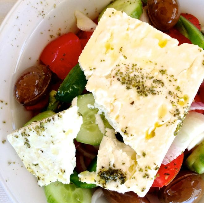 The Real Greek Salad.