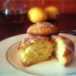 lemon olive oil cakes