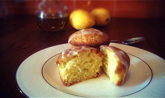 lemon olive oil cakes