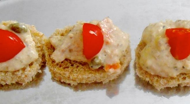 Simple Mediterranean Sardine Spread