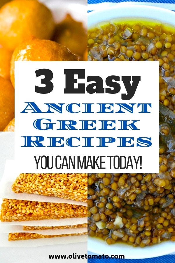 ancient greek recipes