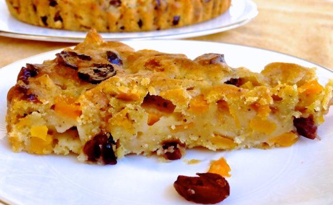 greek vegan pumpkin cake