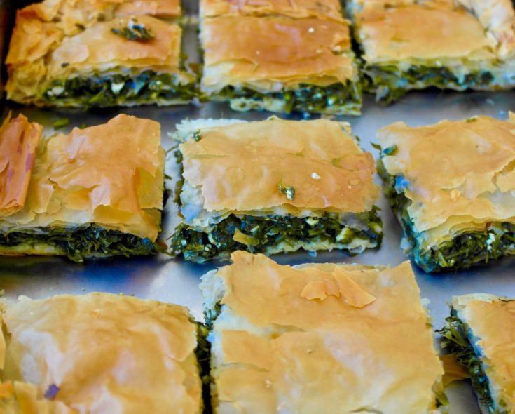 Authentic Spanakopita - Greek Spinach and Feta Pie