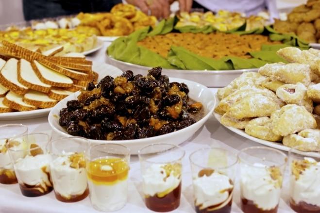 Breakfast Items from the Greek Island of Kos