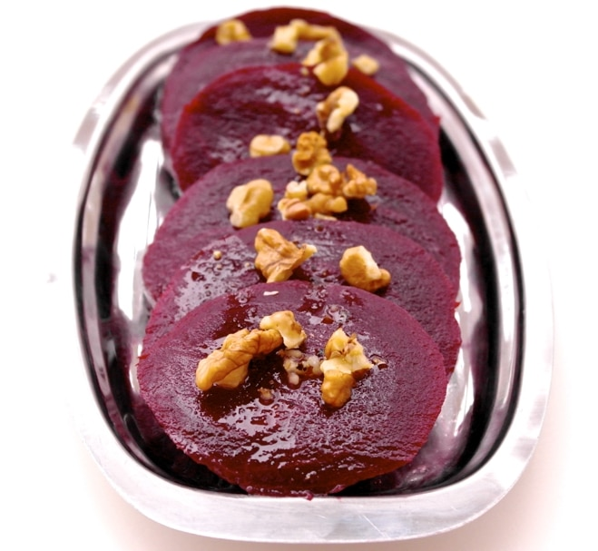 beets with olive oil