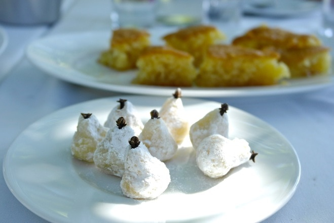 Greek Sweets-Amygdalota