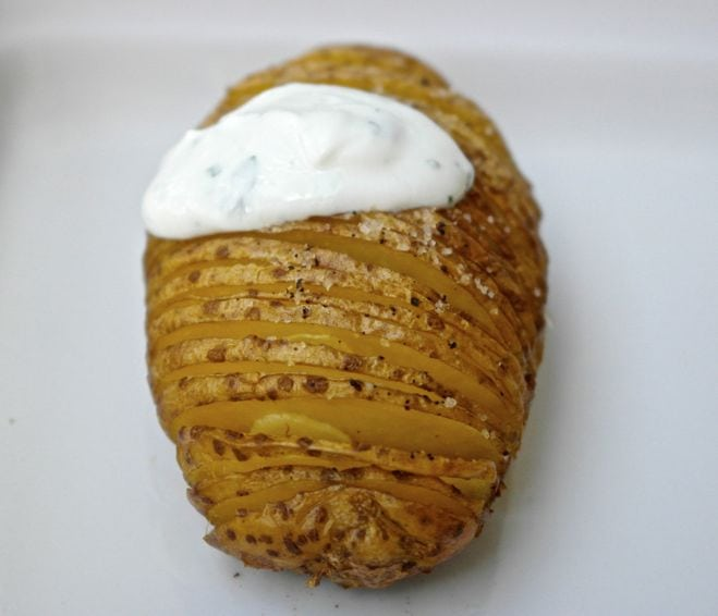 Potato Greek style