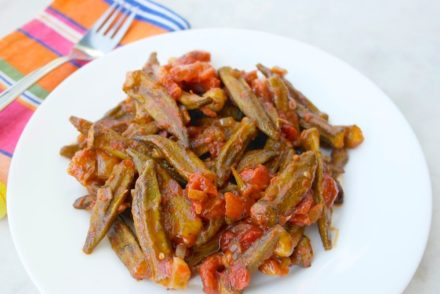 Greek Okra Bamies