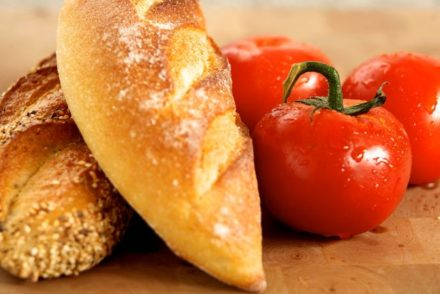 tomato and bread