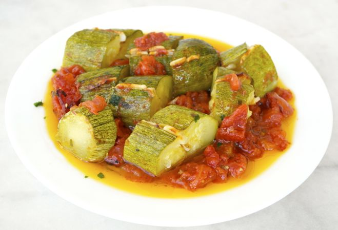Zucchini Cretan style