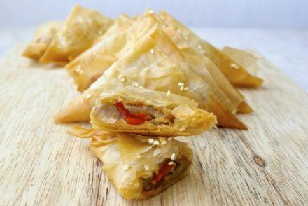 Greek Zucchini and Feta Pie – Kolokithopita | Olive Tomato