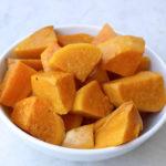 Oven roasted sweet potato
