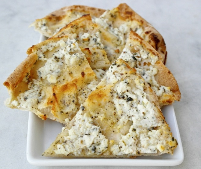Feta and Greek Yogurt Pita Appetizer