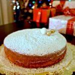Vasilopita Greek Lucky New Years Cake