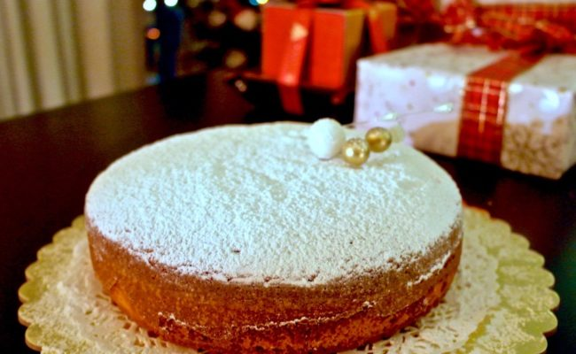 Vasilopita Greek Lucky New Years Cake