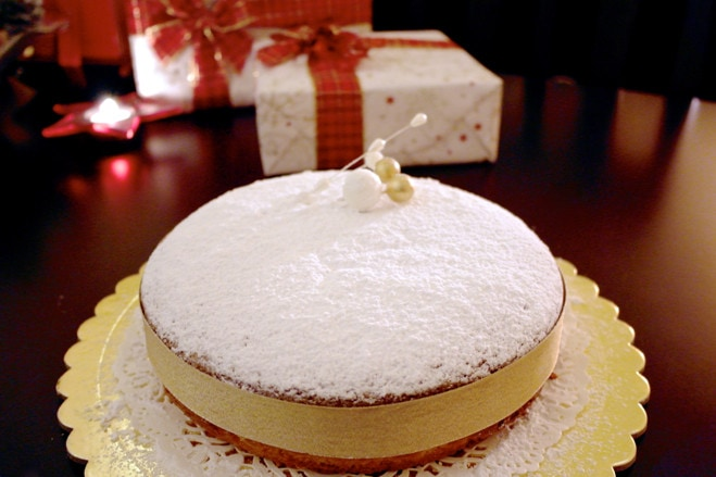 Vasilopita Greek Lucky New Year's Cake
