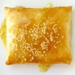 baked feta wrapped in phyllo
