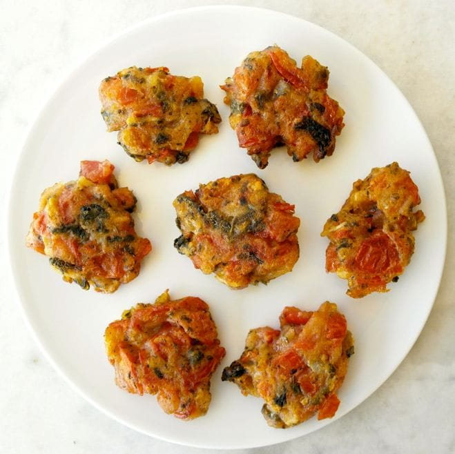 Tomato Patties from Greece Santorini