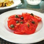 Tomatoes and capers