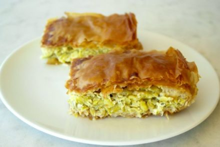 Greek Zucchini Pie Kolokithopita