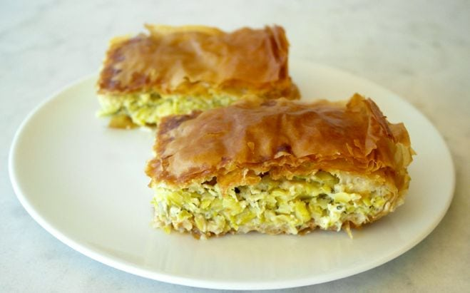 Greek Zucchini and Feta Pie – Kolokithopita