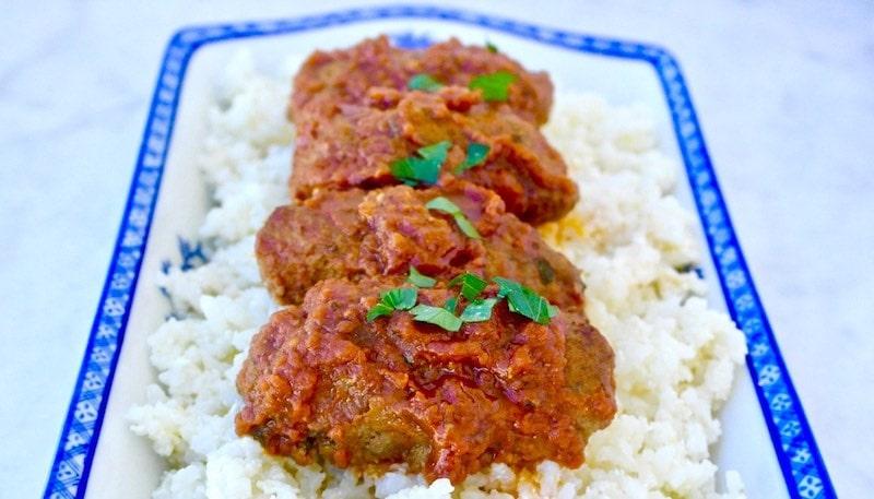 soutzoukakia meatballs