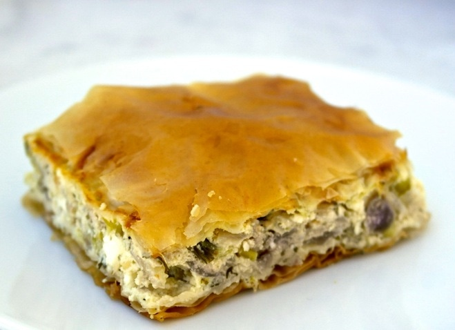 Kremithopita Greek Onion Pie