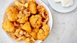 Greek Braised Cauliflower with Tomato – Kounoupidi Kapama