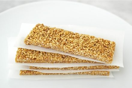 Pasteli Honey Sesame Bars