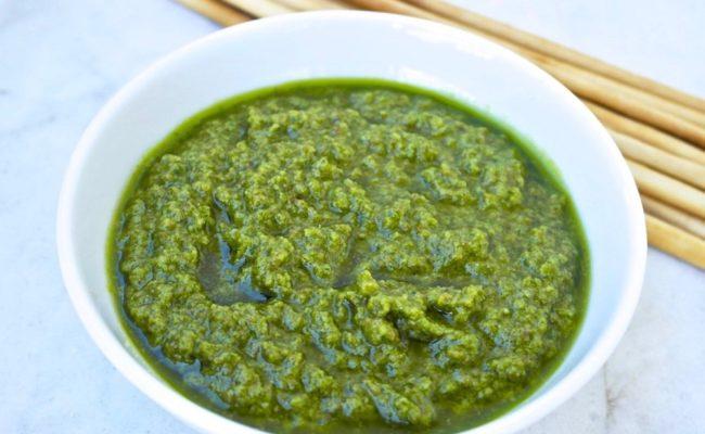 greek parsley dip