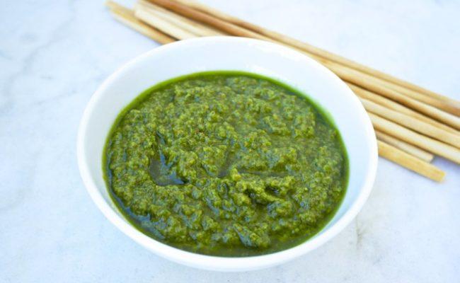 parsley dip pesto Greek