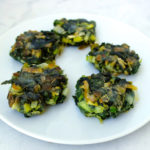 Spinach fritters Greek