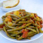 Greek Green beans-Fasolakia