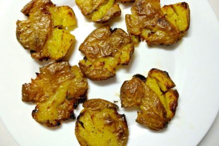Smashed Roasted Potatoes