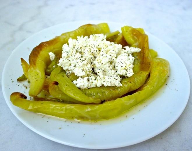 Greek spicy pepper recipe