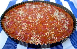Greek watermelon cake