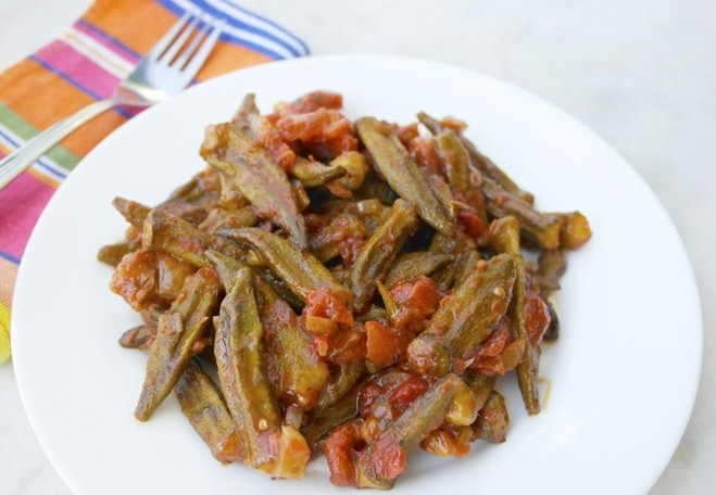 greek okra casserole