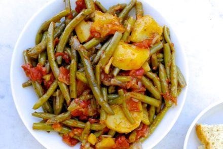 greek green bean casserole