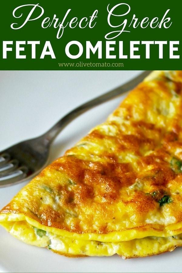 Greek Feta omelette