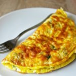 greek omelette with feta cheese