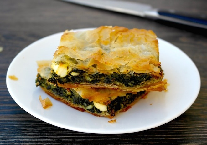 Spanakopita -Greek Spinach and Feta Pie | Olive Tomato - The Real ...