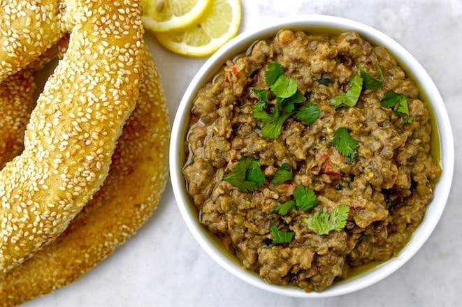 Lentil Dip with Tahini and Lemon