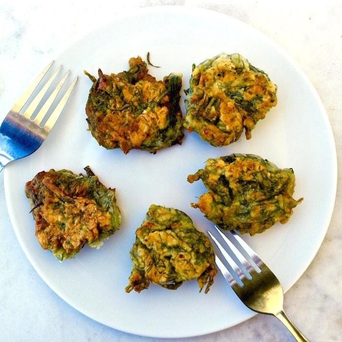 greek fennel fritters