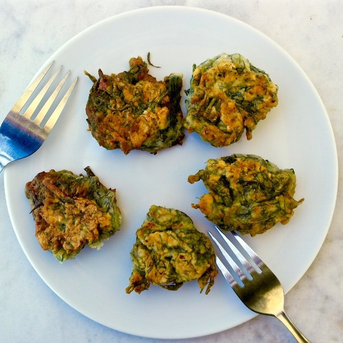 Greek Fennel Fritters
