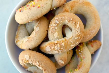 Koulourakia Greek Easter Cookies