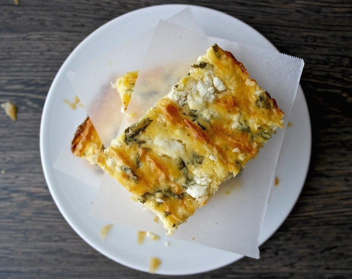Quick and Easy Greek herb and Cheese Pie