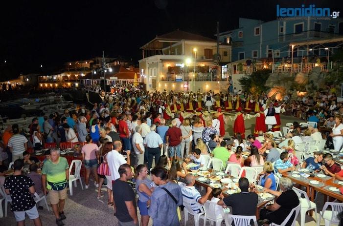 leonidio eggplant festival